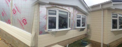 Park Home Insulation & Cladding